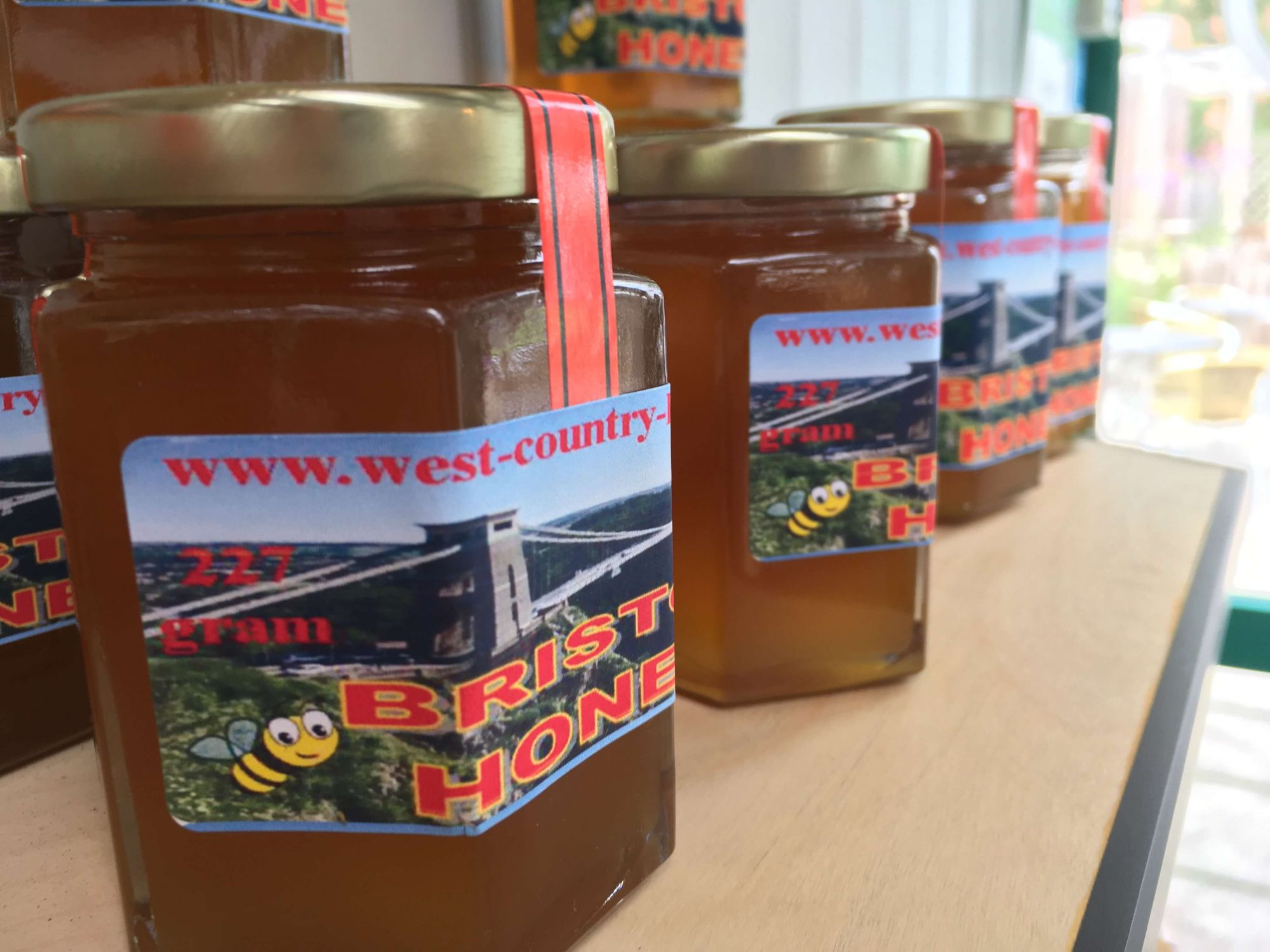 West Country Honey at Riverside Garden Centre Cafe
