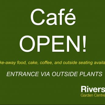Riverside Cafe OPEN!