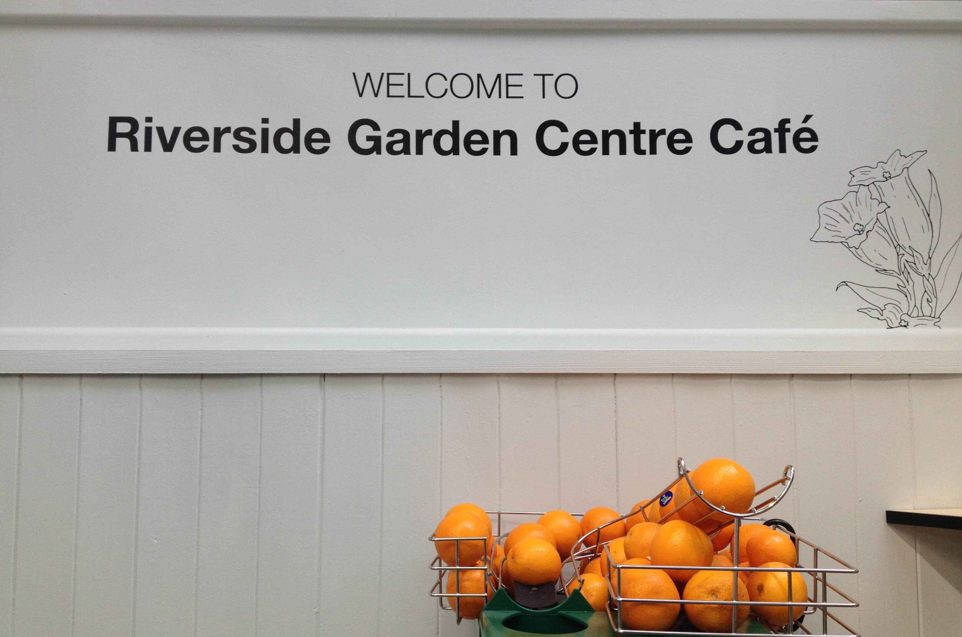 Riverside Cafe is Open Again!
